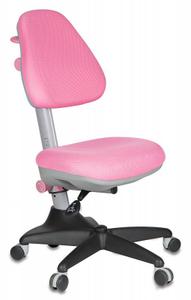Кресло детское Бюрократ KD-2/PK/TW-13A розовый TW-13A (розовый пластик ручки)