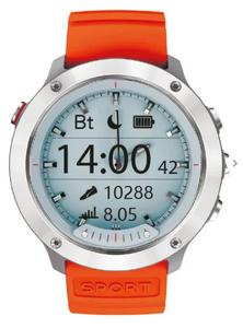 Смарт-часы Geozon Hybrid серебристый