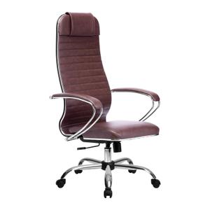 Кресло офисное Метта Комплект 6 (БЕЗ ОСНОВАНИЯ) коричневый