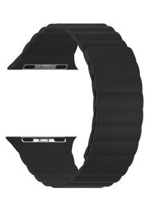 Кожаный ремешок для Apple Watch 38/40 mm LYAMBDA POLLUX DSP-24-40-BK Black