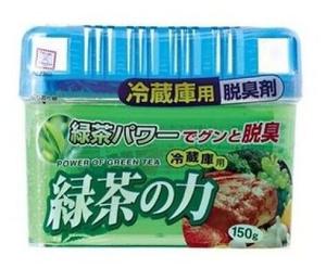 Дезодорант-поглотитель неприятных запахов для холодильника с экстрактом зелёного чая (общая камера) 150гр Kokubo