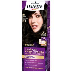 Краска для волос №1 (1-0) Черный Palette