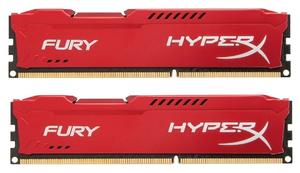 Оперативная память HyperX Fury [HX318C10F*K2/16] 16 Гб DDR3