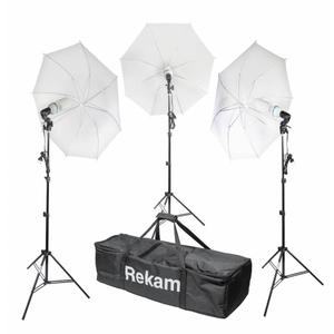 Комплект флуоресцентных осветителей с зонтами Rekam CL-465-FL3-UM Kit