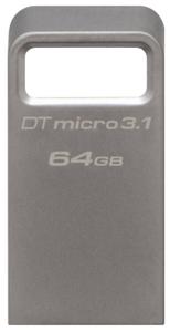 Kingston DataTraveler Micro 3.1 < DTMC3 / 64GB > USB3.1 Flash Drive 64Gb (RTL)