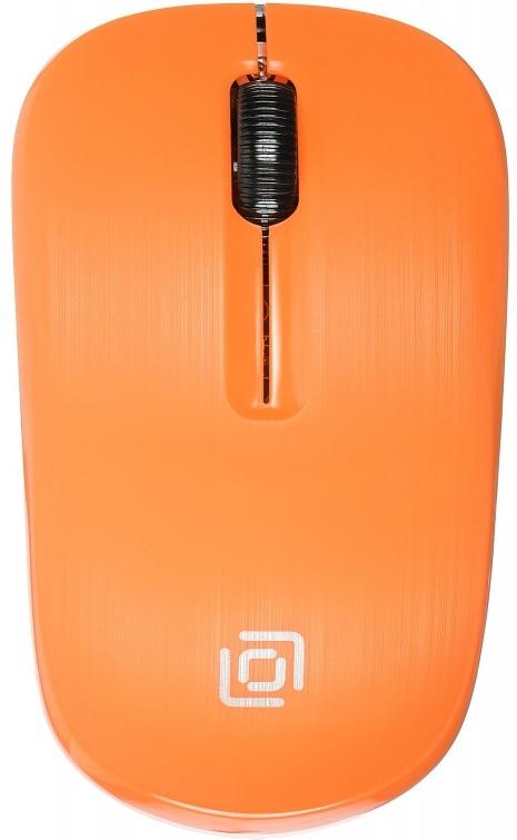 Мышь беспроводная Oklick 525MW оранжевый