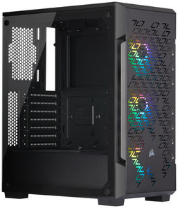 Корпус Corsair [CC-9011173-WW] iCUE 220T RGB без БП черный