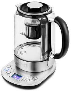 Чайник электрический Kitfort KT-6116 серебристый