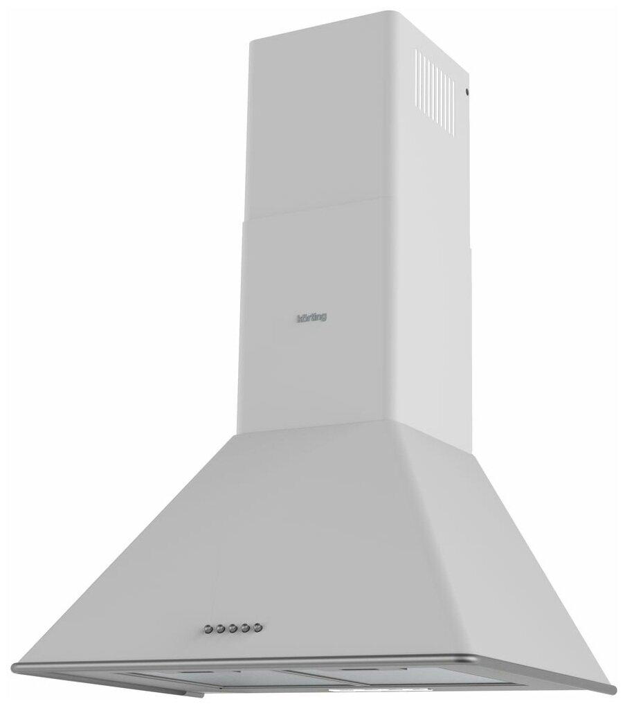 Вытяжка каминная Korting KHC 6648 RSI белый