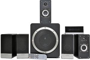 Колонки Microlab H510 (5x32W +Subwoofer 95W, дерево, ПДУ)(отключается звук при воспроизведении на громкости выше средней)