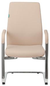 Кресло для руководителя Бюрократ JONS-LOW-V бежевый