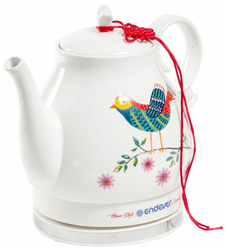 Чайник электрический Endever SKYLINE KR-410 белый