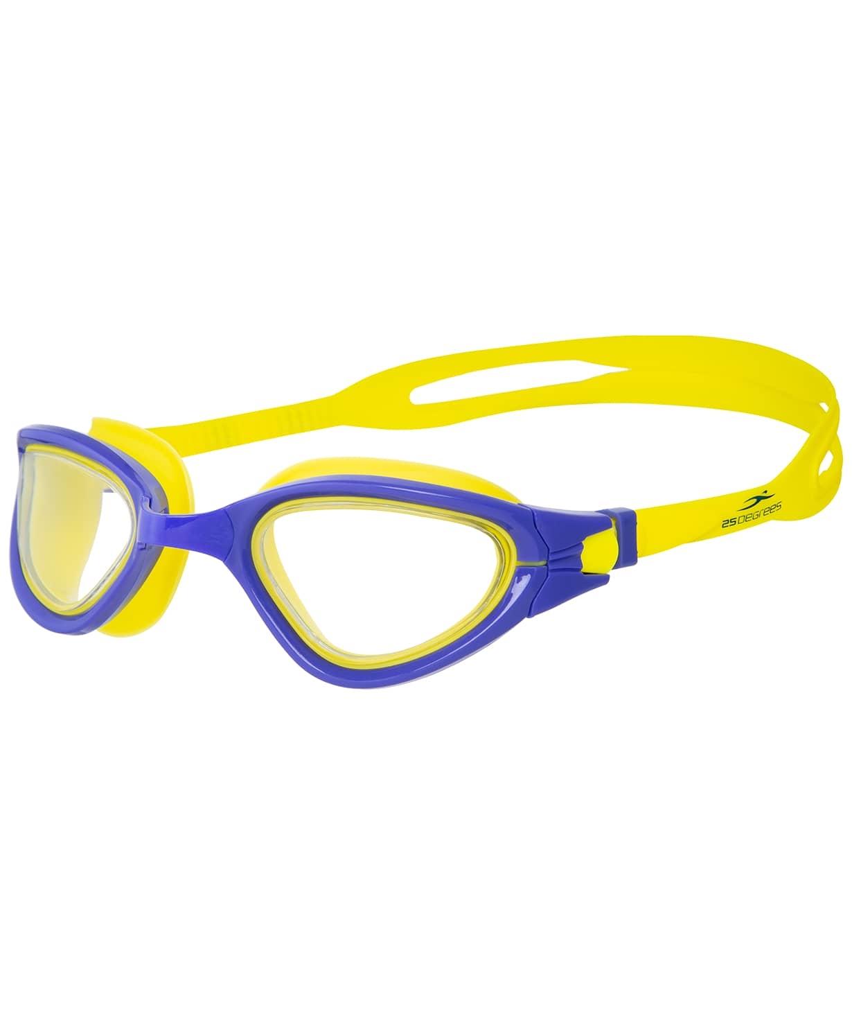 Очки для плавания Azimut Purple/Yellow
