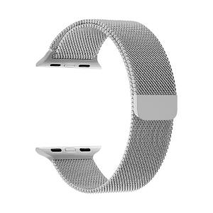 Ремешок из нержавеющей стали для Apple Watch 42/44 mm LYAMBDA CAPELLA DS-APM02/2-44-SL Silver / DS-APM02/2-44-SL / Ремешок из нержавеющей стали для Ap