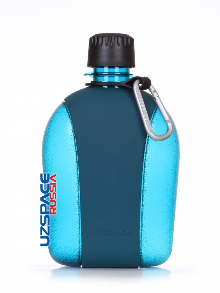 Бутылка для спорта UZSPACE Army Canteen-Tritan, 950 ml (6016) (Бирюзовый)