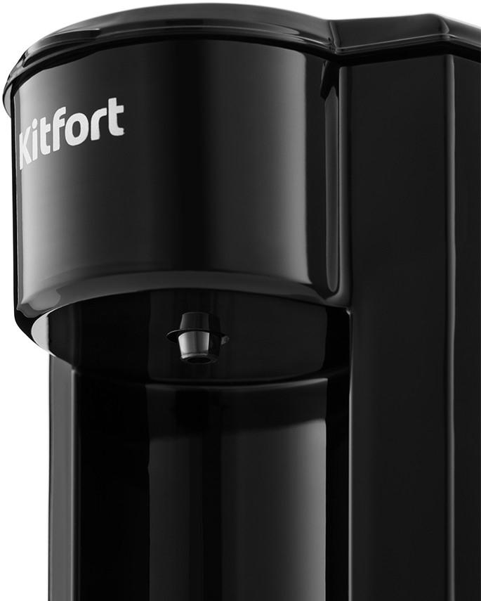Кофеварка капельная Kitfort КТ-763 черный