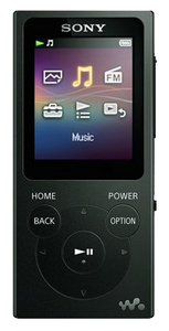 MP3-плеер Sony NW-E394 черный