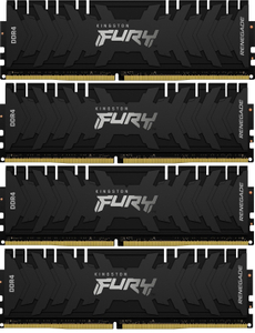 Оперативная память Kingston FURY Renegade [KF432C16RBK4/32] 32 Гб DDR4