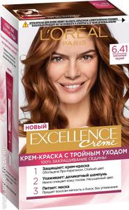 Крем-краска для волос Excellence 6.41 Элегантный медный L'Oreal Paris