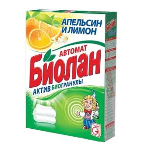 Стиральный порошок Апельсин и Лимон 350гр БИОЛАН