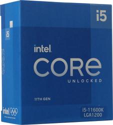 Процессор Intel Core i5-11600K (без кулера) BOX