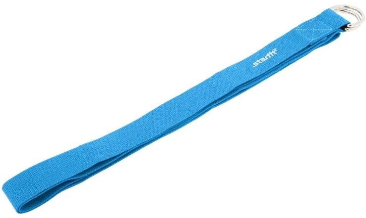 Ремень для йоги STARFIT FA-103, синий 1/200