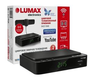 Цифровой TV-тюнер Lumax DV2115HD