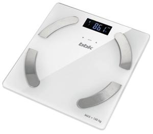 Весы напольные BBK BCS5001GM белый