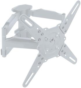 """Кронштейн для телевизора Kromax ATLANTIS-45 белый 22""""-65"""" макс.45кг настенный поворот и наклон"""