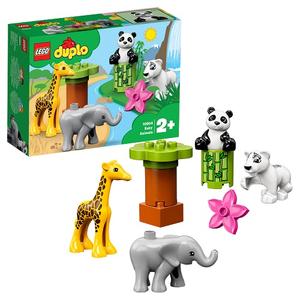 Конструктор lego duplo детишки животных 10904