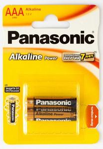 Panasonic LR03 Alkaline  Power BL*2 батарейка (2х12=24)