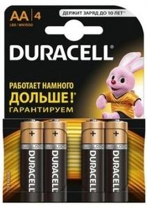 Батарейка Duracell CN LR6-4BL BASIC CN (4 шт)