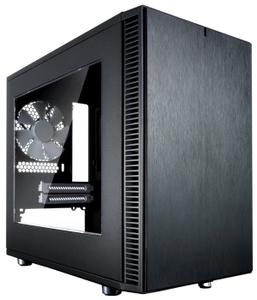 Корпус Fractal Design Define Nano S Window без БП черный
