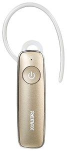 Bluetooth-гарнитура Remax RB-T8 золотой