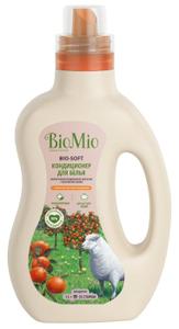 Кондиционер для белья концентрированный Мандарин BIO-SOFT 1000мл BioMio