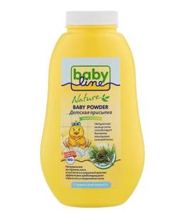 Присыпка детская с сосновой пыльцой 125гр Babyline