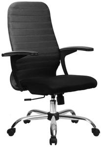 Кресло офисное Метта SU-CP-10 (БЕЗ ОСНОВАНИЯ) черный