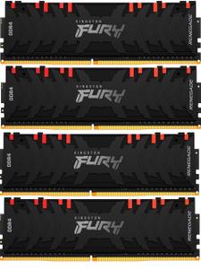 Оперативная память Kingston FURY RenegadeRGB [KF430C15RBAK4/32] 32 Гб DDR4