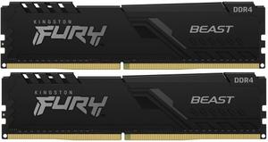 Оперативная память Kingston FURY Beast [KF432C16BB1K2/32] 32 Гб DDR4