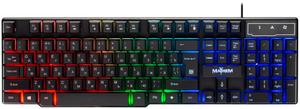 Клавиатура проводная Defender Mayhem GK-360DL черный