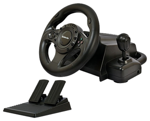 Руль Defender Forsage Drift(Vibr,рулевое колесо,педали,рычаг перекл.скор.,4поз..перекл.,12кн.,USB,PS2/PS3)<64370>