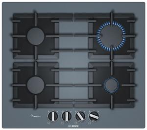 Газовая варочная панель Bosch PPP6A9B90R серый
