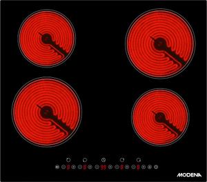Электрическая варочная поверхность MODENA BC 0642 LBR черный