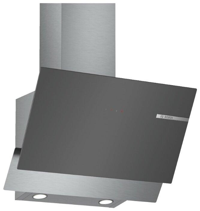 Вытяжка каминная Bosch DWK65AD70R серебристый