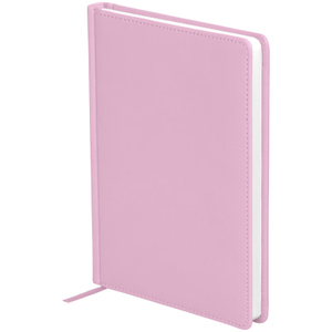 "Ежедневник недатир. A5, 136л., кожзам, OfficeSpace ""Winner"", розовый"