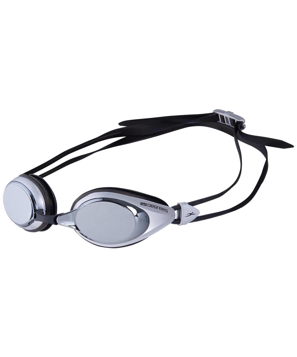 Очки для плавания Pulso Mirrored White/Black