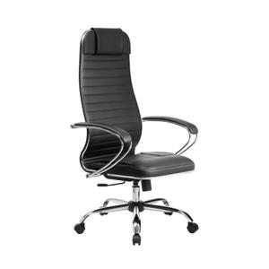 Кресло офисное Метта Комплект 6 (БЕЗ ОСНОВАНИЯ) черный