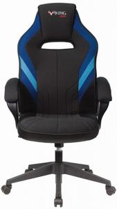 Кресло игровое Бюрократ Zombie VIKING 3 AERO синий