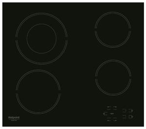 Электрическая варочная поверхность Hotpoint-Ariston HR 622 C черный