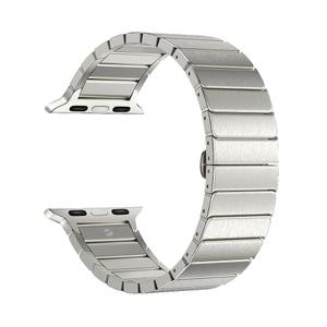 Ремешок Deppa Band Steel для Apple Watch 42/44mm (Silver)